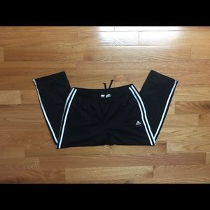 Adidas Cropped Track Pants M